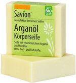 Savion Körperseife mit Bio-Arganöl, 80 g | Waschbär