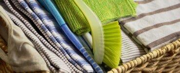 Spültücher und Spülschwämme ohne Plastik