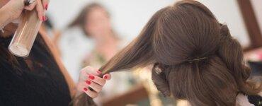 Haarspray ohne Plastik