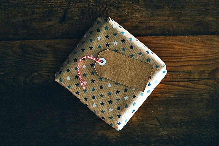 Geschenkpapier ohne Plastik
