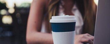 Kaffeebecher Trinkbecher Thermobecher ohne Plastik